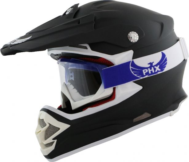 PHX GPro Adult Goggles - Gloss Blue/White