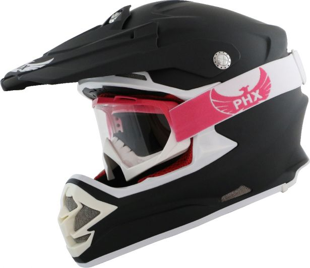 PHX GPro Adult Goggles - Gloss Pink/White