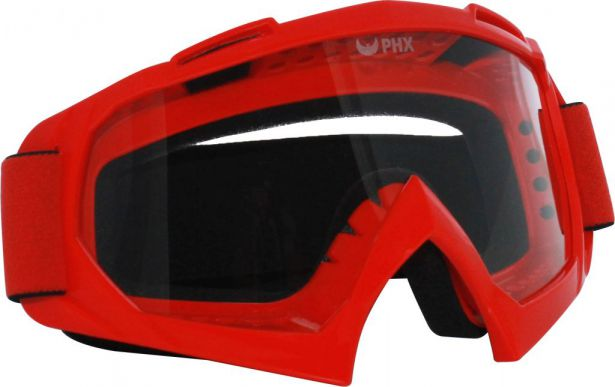 PHX GPro Adult Goggles - Gloss Red