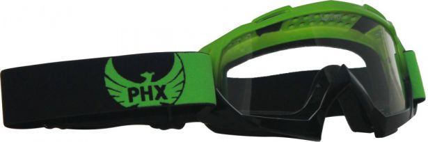 PHX GPro Adult Goggles - Gloss Green/Black