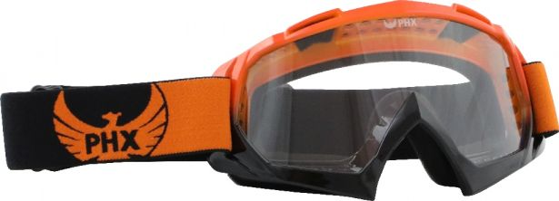 PHX GPro Adult Goggles - Gloss Orange/Black