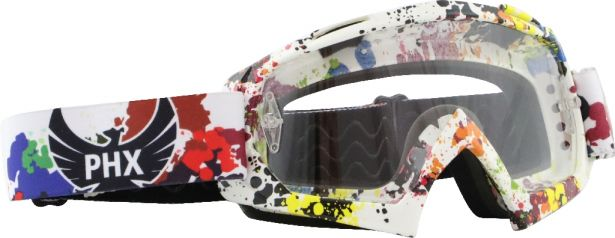PHX GPro Adult Goggles - X1, Splatter