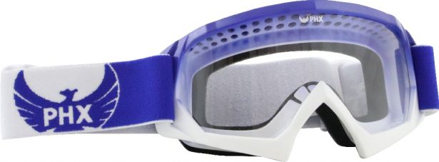 PHX GPro Youth X Goggles - Gloss Blue/White
