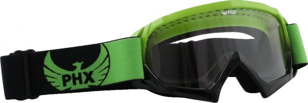 PHX GPro Youth X Goggles - Gloss Green/Black