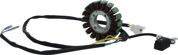 Stator - Magneto Coil, CG18, 5 Wire