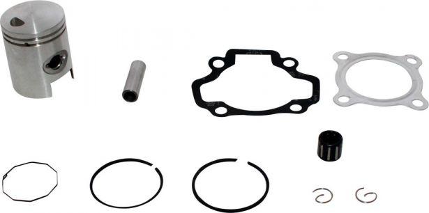Piston and Ring Set -  50cc, 40mm, 10mm, Yamaha PW50 (10pcs)