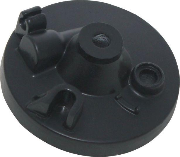 Brake Hub - Drum Brake Backing Plate, Yamaha PW50, Front