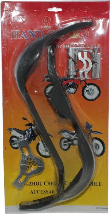 Hand Guard - Motorcycle, ATV, Black, Aluminum