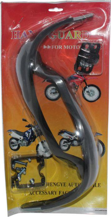 Hand Guard - Motorcycle, ATV, Black