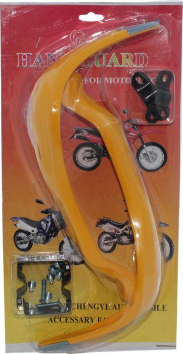 Hand Guard - Motorcycle, ATV, Yellow