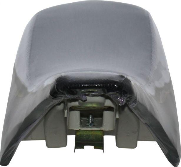 Seat - 150cc to 250cc, ATV, Racing Style, Black
