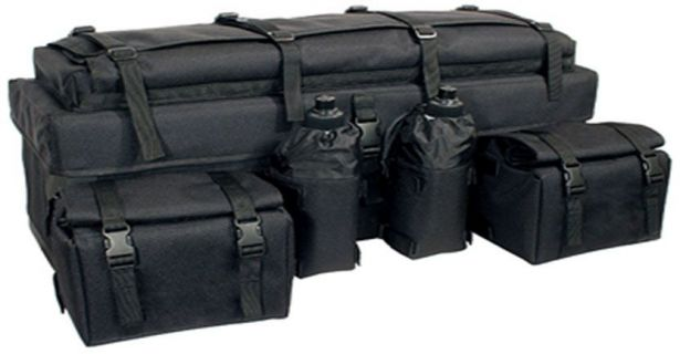 ATV Rack Bag - Multi-Level Version 1, Black