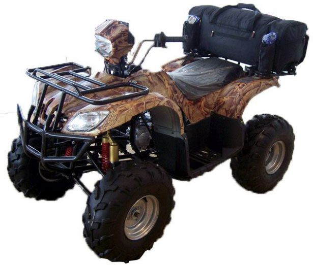 ATV Rack Bag - Backpack Edition, Black