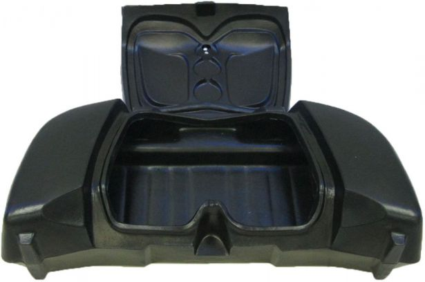 ATV Cargo Box - ATV Storage Box, Front, Black