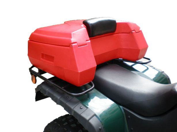 ATV Cargo Box - ATV Storage Box, Rear, Black