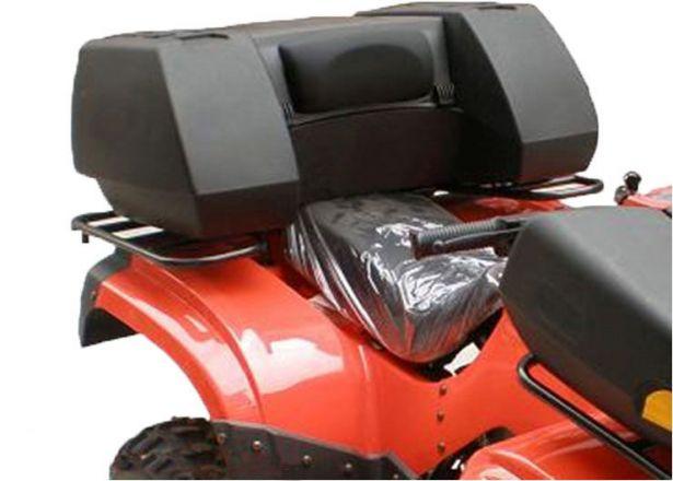 ATV Cargo Box - ATV Storage Box, Rear, Black