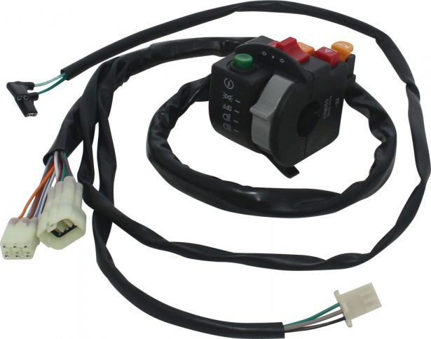 Switch - Left Handlebar, CF Moto, 400cc, 500cc, 625cc