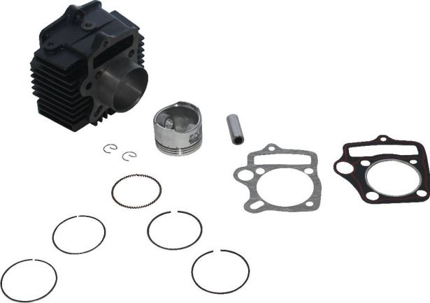 Cylinder Block Assembly - 125cc, Air Cooled