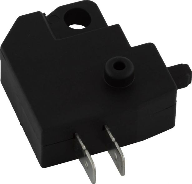 Lever Switch - Universal, Brake Light & Electric Motor Toggle Switch, Left Side