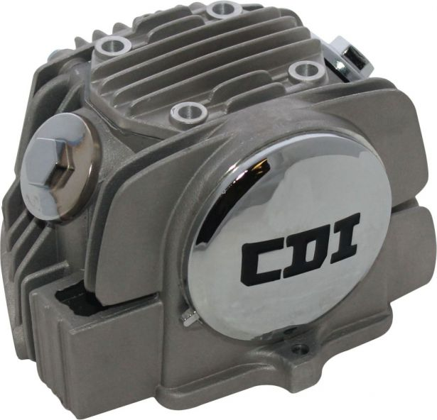 Cylinder Head Assembly - 125cc, Air Cooled (23mm/20mm)