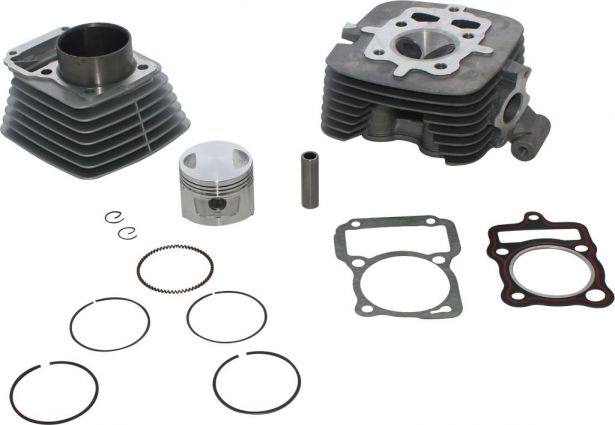 Top End Assembly - 150cc, Air Cooled, Complete Top End Assembly