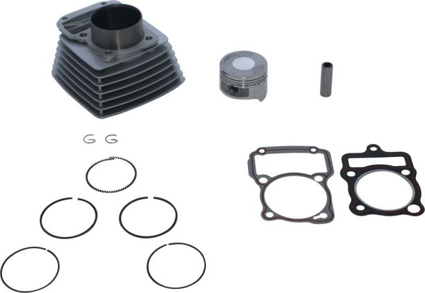 Cylinder Block Assembly - 200cc, Air Cooled