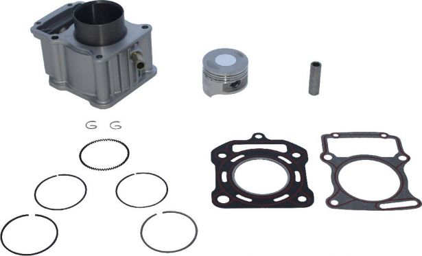 Cylinder Block Assembly - 200cc, Liquid Cooled