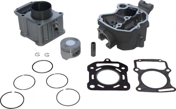 Top End Assembly - 200cc, Liquid Cooled, Complete Top End Assembly