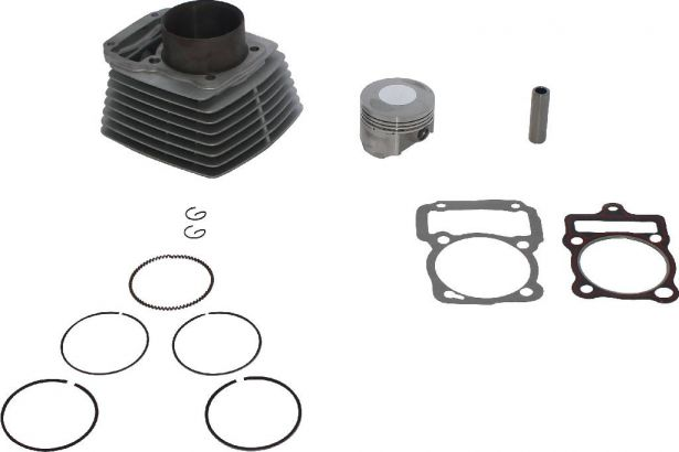 Cylinder Block Assembly - 250cc, Air Cooled