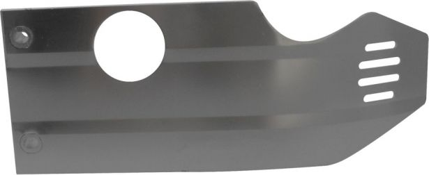 Crash Plate - Skid Plate, Aluminum, 50cc to 140cc, Dirt Bike, Symmetrical