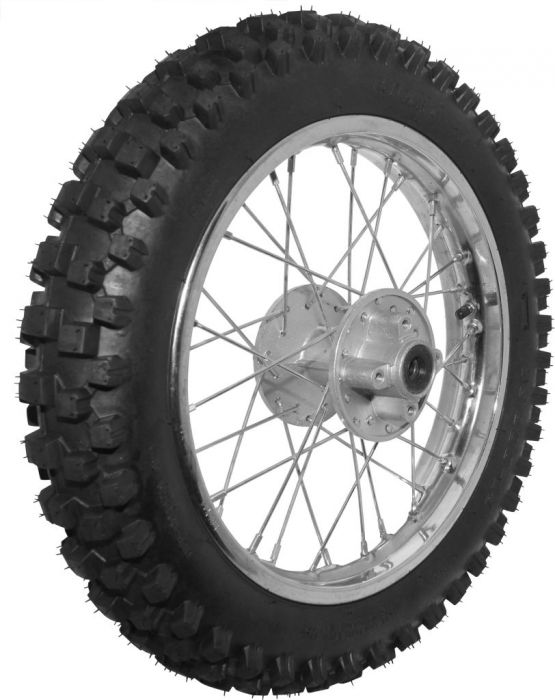 Rim and Tire Set - Rear 14
