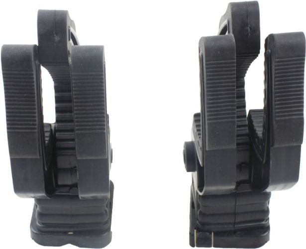 Gun Box Mounting Clamps - Universal Mounting Clamp Set (2pcs)