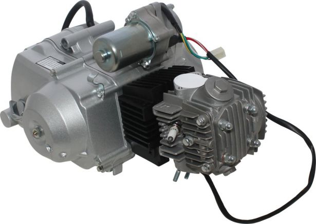 Complete Engine - 110cc Horizontal Engine, Automatic, Electric Start