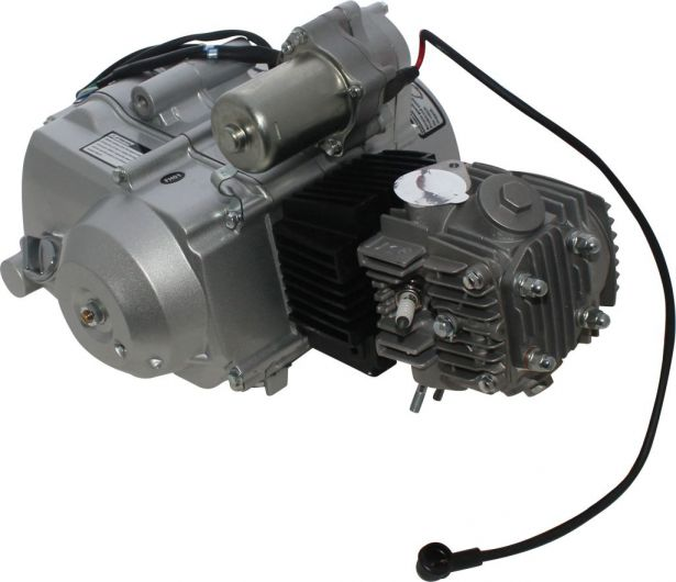 Complete Engine - 125cc Horizontal Engine, D-N-R, Electric Start