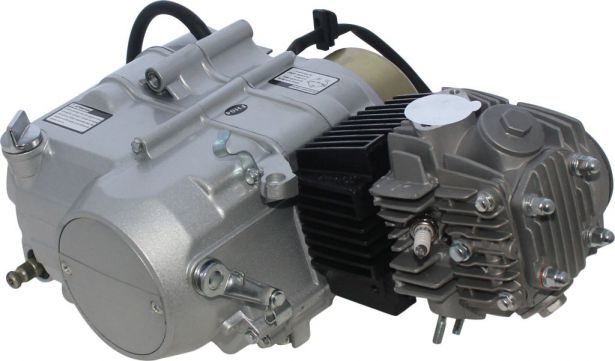 Complete Engine - 125cc Horizontal Engine, Manual Shift, Kick Start