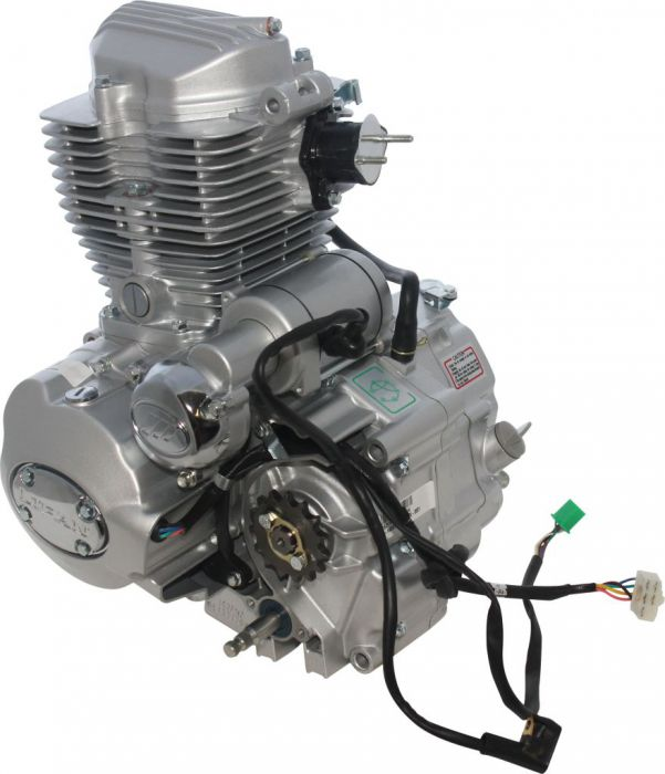 Complete Engine - Vertical 150cc Engine, Manual Shift, Electric/Kick Start