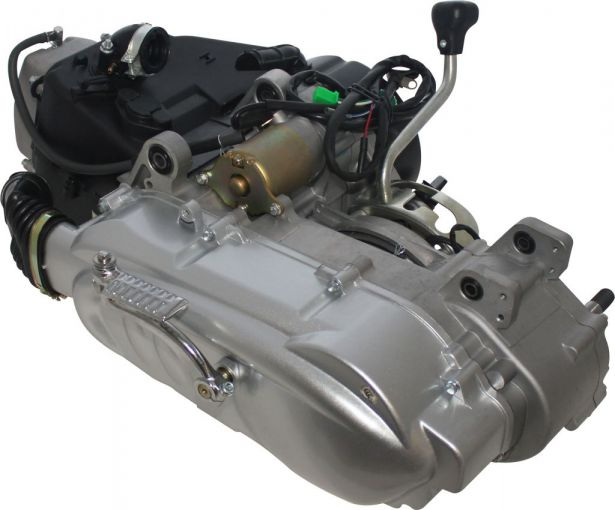 Complete Engine - 150cc GY6, Electric/Kick Start