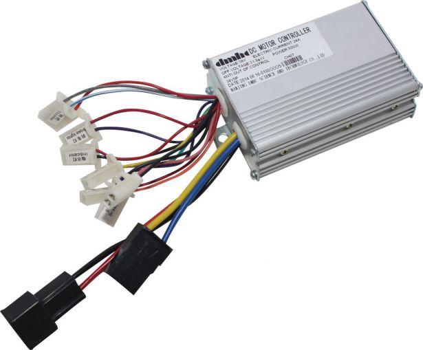 Controller - 36V, 500W, 24A