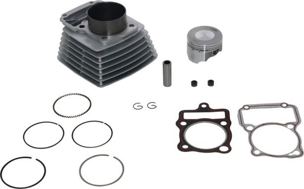 Cylinder Block Assembly - Big Bore, 200cc to 250cc, 65.5mm, 14pc