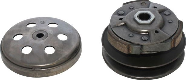 Clutch - Drive Pulley with Clutch Bell, CF Moto, 19 Splines, 172MM, 250cc