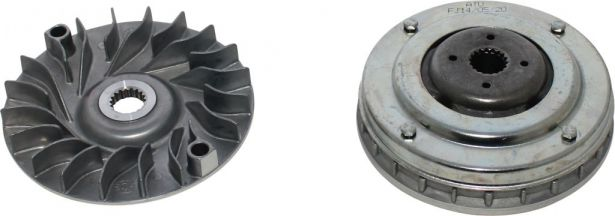 Clutch - Variator, Yamaha, Majesty 250, 18 Spline