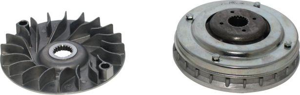 Clutch - Variator, Linhai, 20 Spline, 400cc, ATV/UTV/CUV