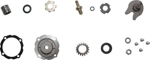 Clutch - Gear Set, 17pc