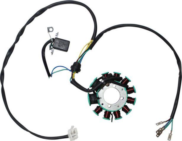 Stator - Magneto Coil, CG11, 7 Wire