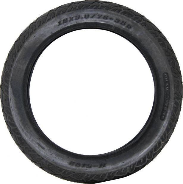 Tire - 18x3.0, Scooter