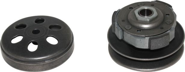 Clutch - Drive Pulley with Clutch Bell, 150cc, 19 Spline, Water Cooled