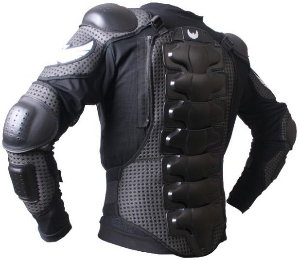 PHX TuffSkin Body Armor - Kids, Black, XS