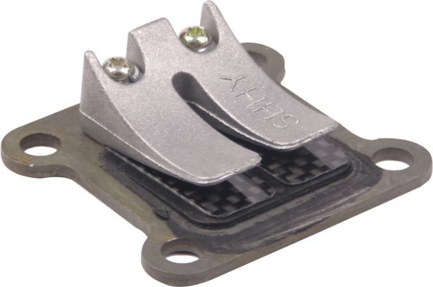 Reed Valve and Block - Air Cooled, Carbon Fiber