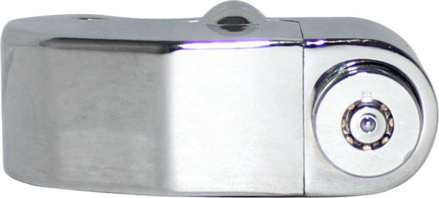 Lock - Brake Disk Lock, Alarm, Chrome