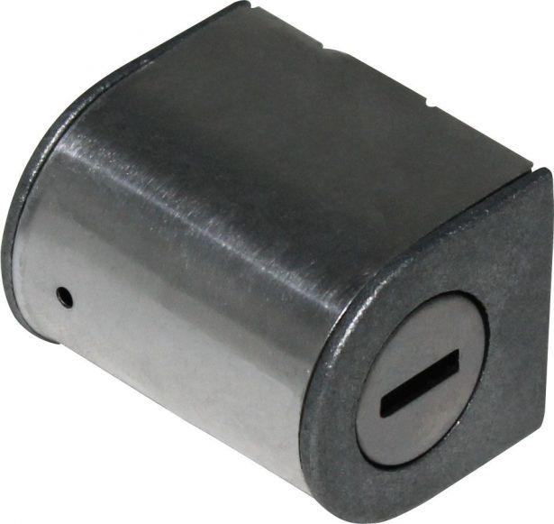 Steering Lock - 150cc to 400cc, ATV, Dirt Bike, 300cc, 2x4, 4x4 and 4x4 IRS
